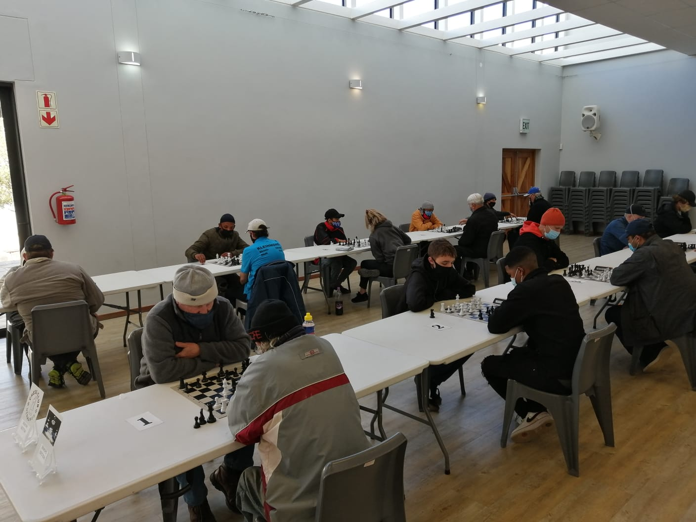 Round 6-10 of Overberg Chess League 2021