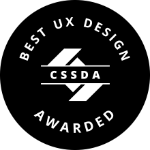 CSSDA Best UX Design Badge