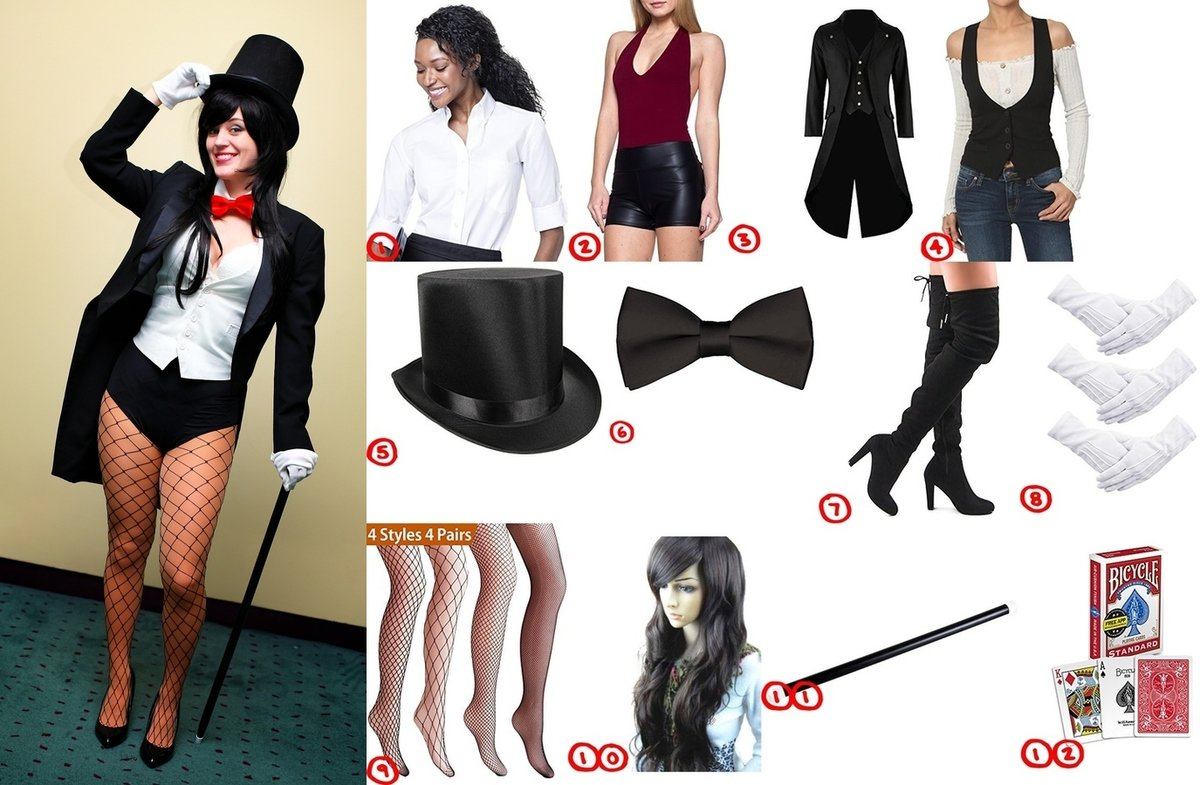 Zatanna Cosplay & Costume Guide