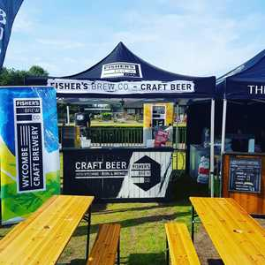 Here at Wimbledon Food Festival Saturday, Sunday and Monday! Come and grab a beer #foodfestival #wimbledon #craftbeer