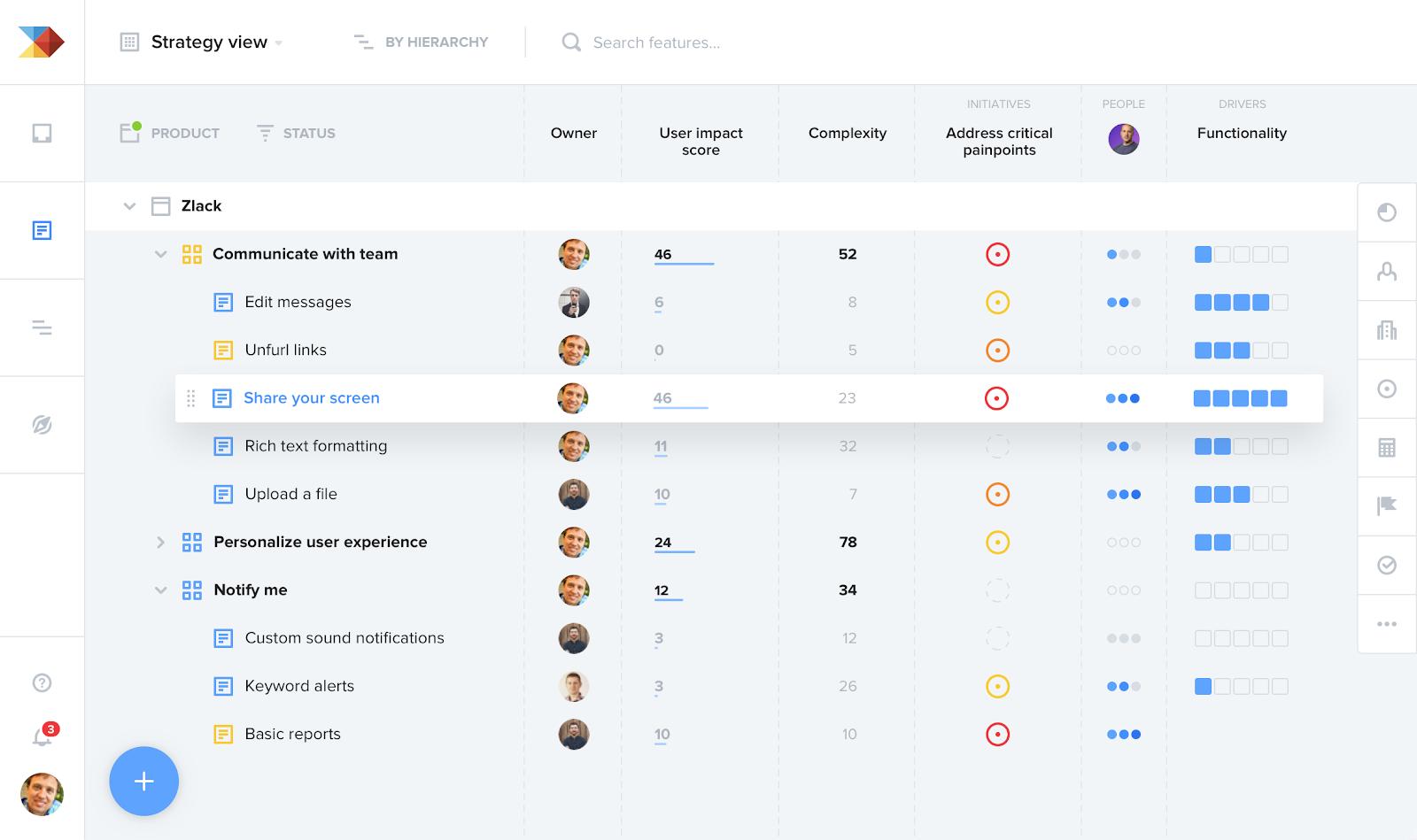 productboard's platform