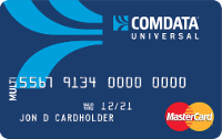 Comdata universal card