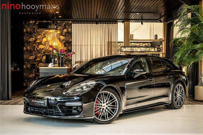 Porsche Panamera 4.0 GTS Sport Turismo | 360 | HUD | BOSE |PANO | Soft close | DAB | LED Matrix | Afstandstempomaat | Karmin Rood pakket, rood st afbeelding 1