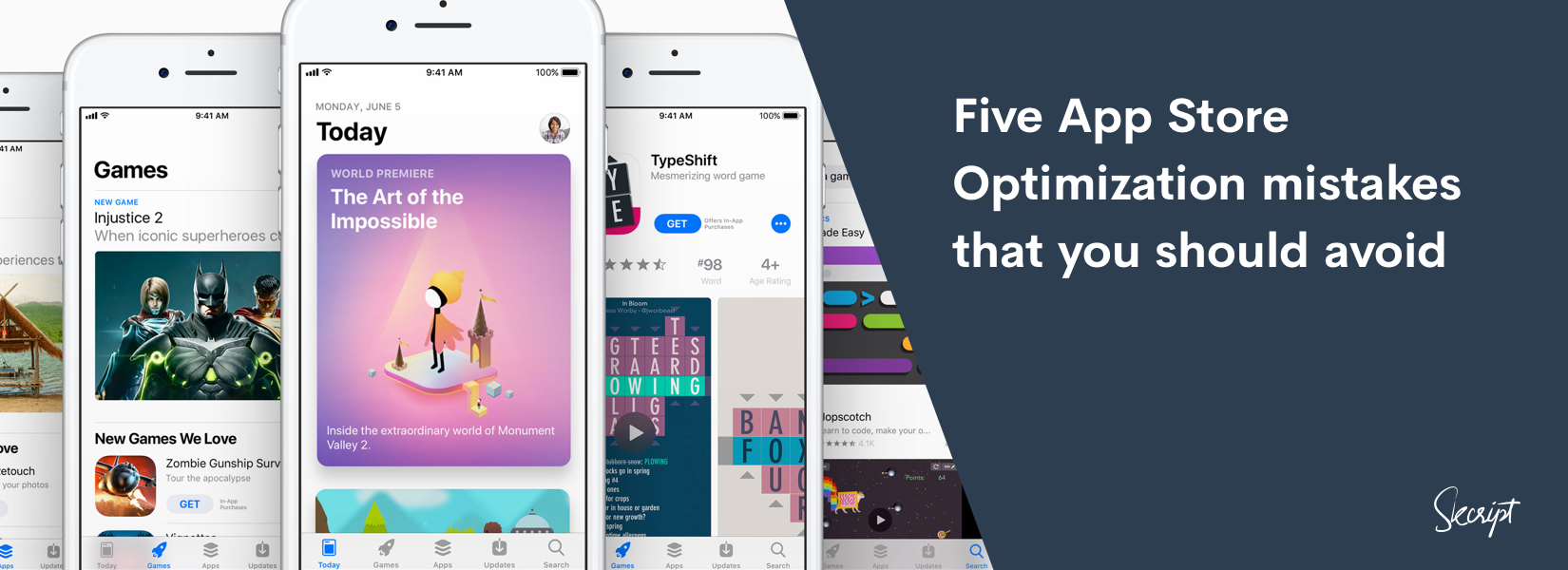 Five App Store Optimization mistakes that you should avoid