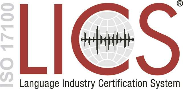 ISO 17100, LICS, Language Industry Certification System