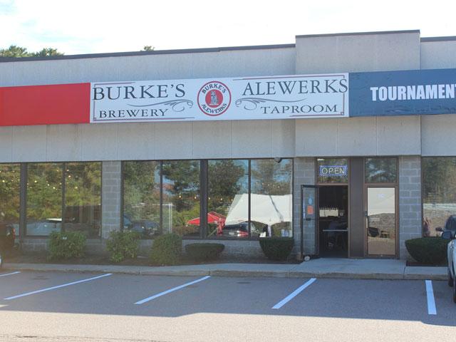 Burke's Alewerks in Hanover, MA