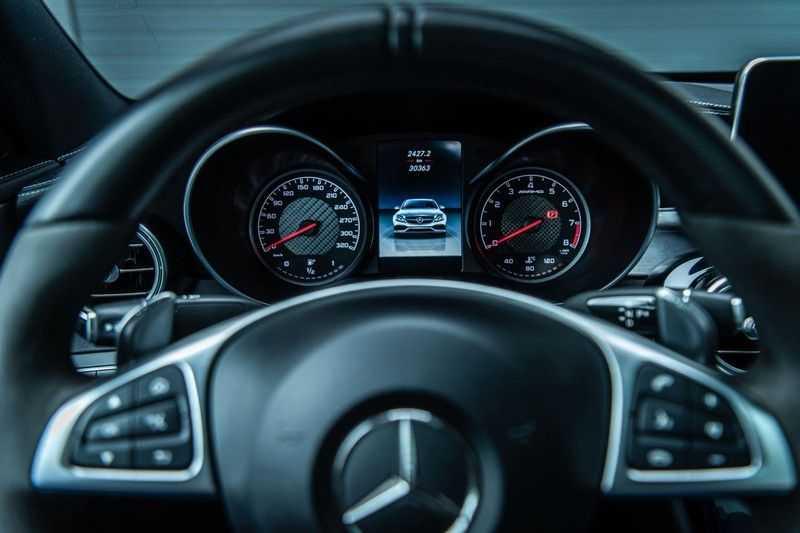 Mercedes-Benz C-Klasse 63 AMG, 476 PK, Pano/Dak, Distronic, Night/Pakket, Burmester, LED, Keyless, 30DKM, Nieuwstaat, BTW!! afbeelding 22