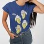 Juniors Bananya Shirt Rolled Sleeve Tee Wear