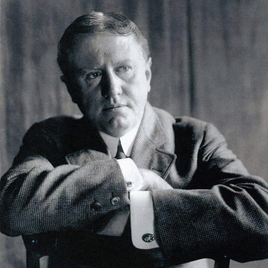 Уильям Сидни Портер (О. Генри) в 1909 году. Источник: wikipedia.org