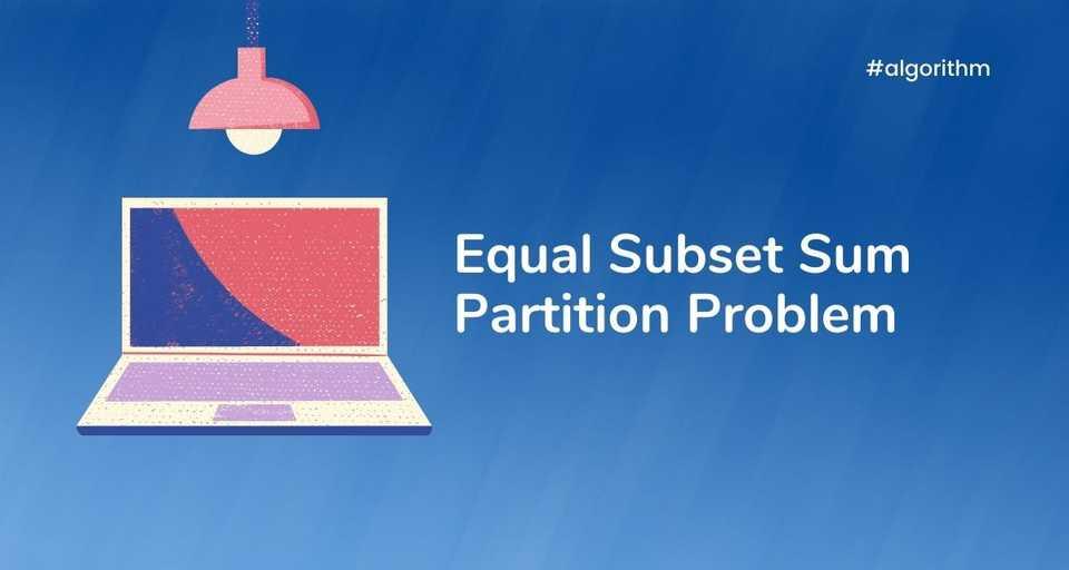 Equal Subset Sum Partiion problem