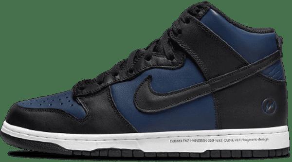 Nike x Fragment Dunk High - Exclusivité Japon
