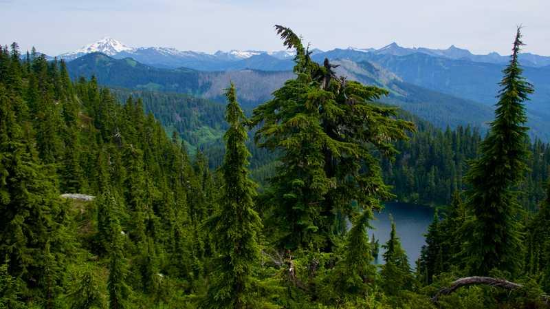 A view that now includes Glacier Peak