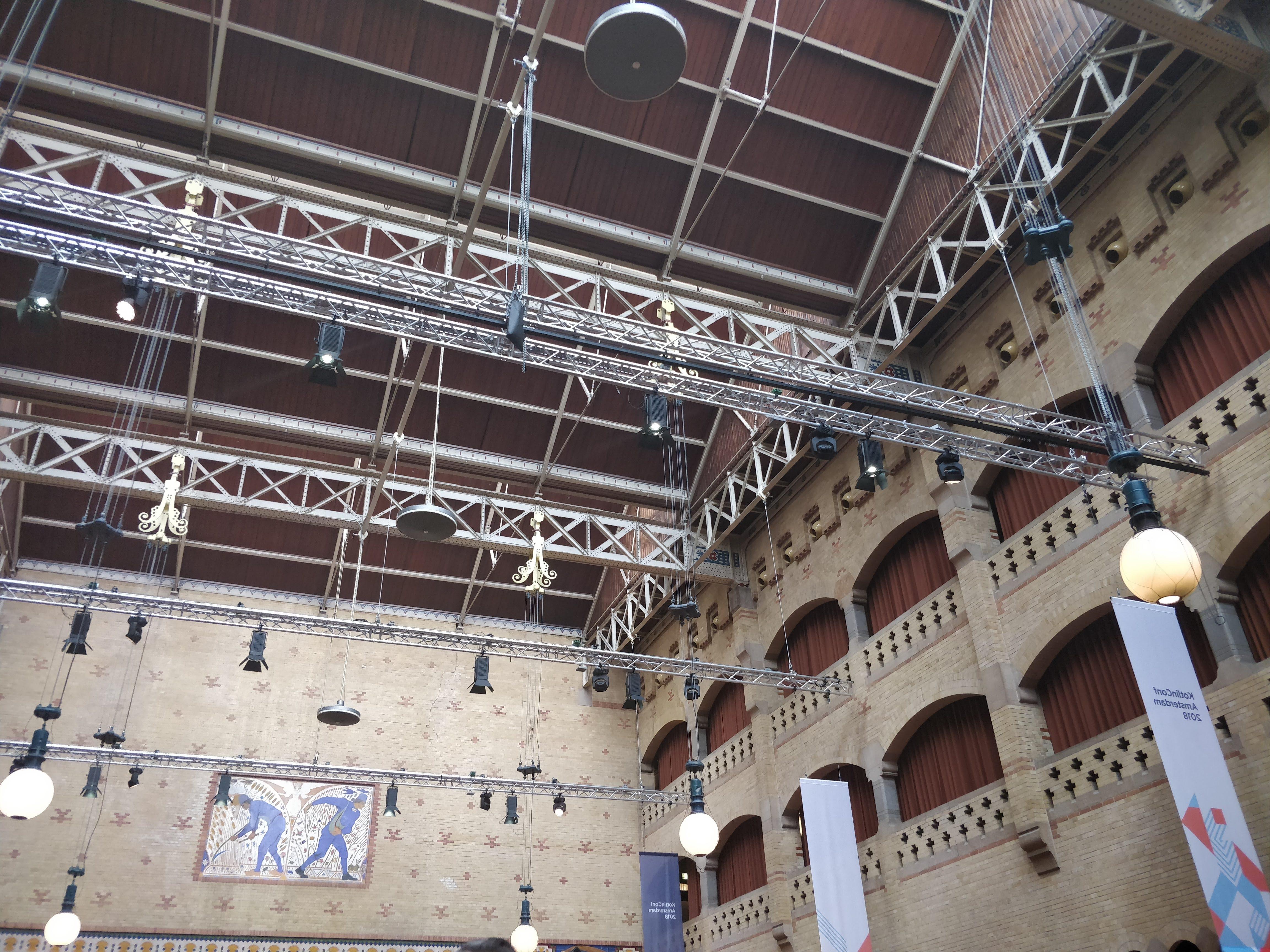 Inside the Beurs Van Berlage