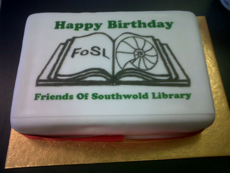 FoSL's third birthday cake