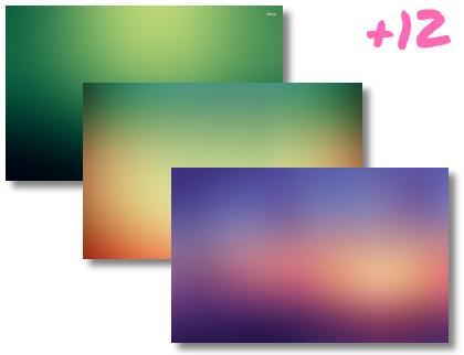 Gradient theme pack