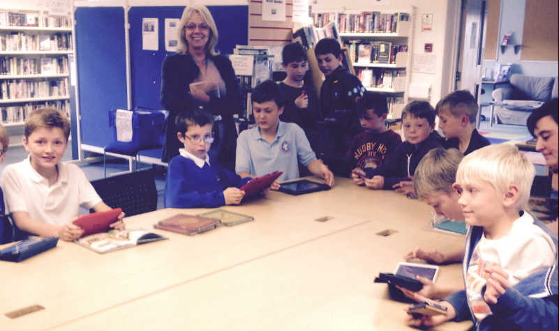 Minecraft club at Thurston Library