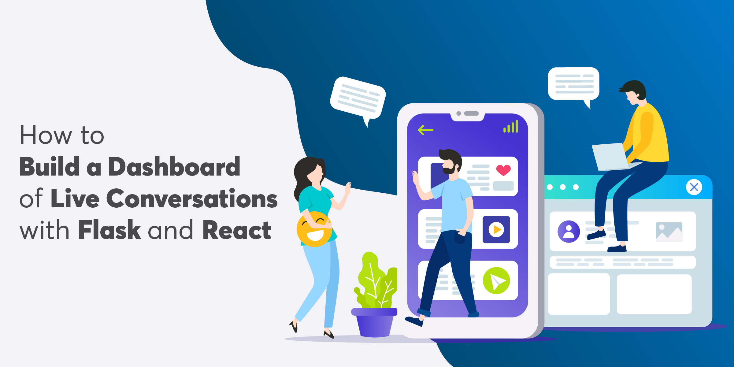 How to Build a Dashboard of Live Conversations with Flask and React