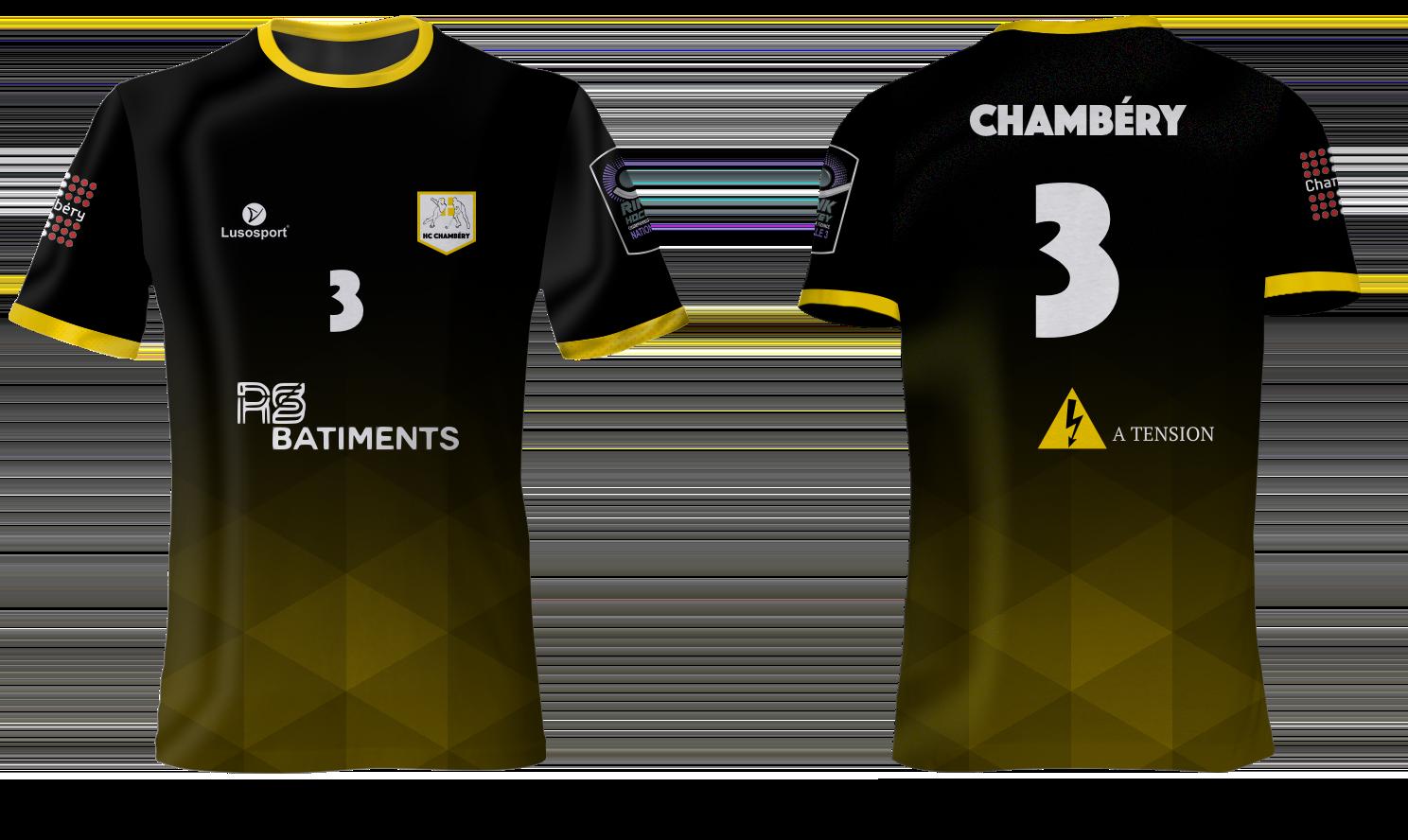 Nouveaux maillots du HCC
