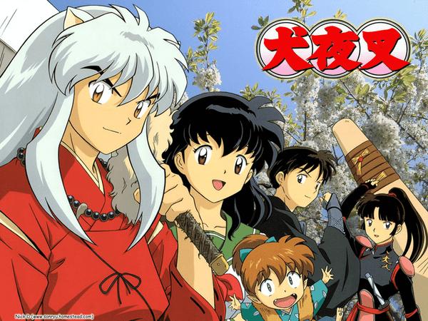 o anime de inuyasha