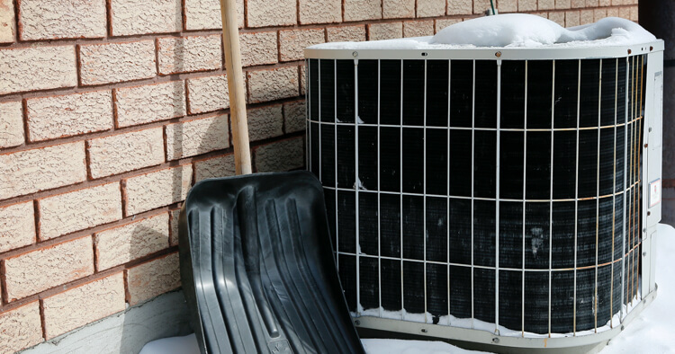 Cleaning Outside AC Unit