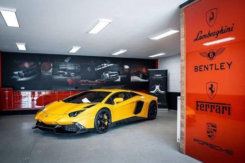 Lamborghini Aventador 6.5 V12 LP700-4, 700 PK, Full Mansory, Full Carbon, Keramiek, Full Service, Liftsysteem, BTW, 37DKM!! afbeelding 1