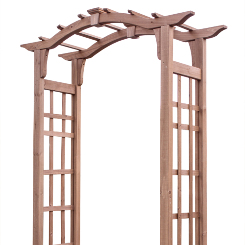 Vinyl Garden Arbor Kits delivered throughout Canada and USA