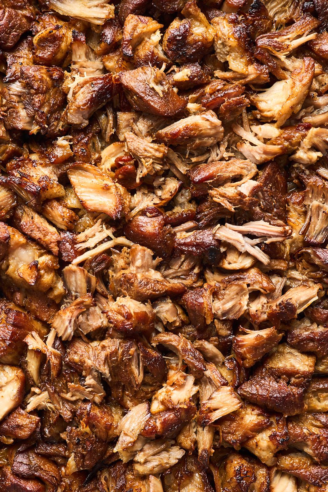 Beer Braised Pork Carnitas