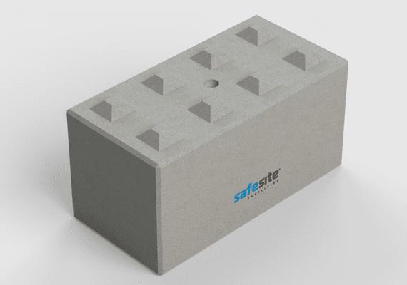 Concrete Lego Block LG8