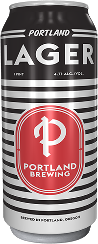 Portland Lager bottle