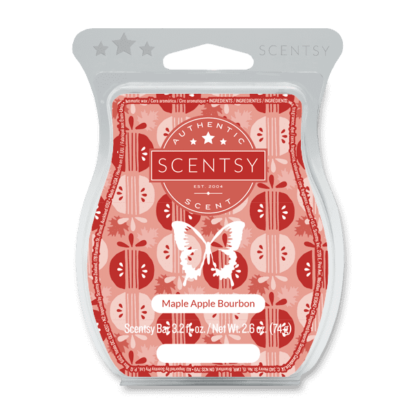 Maple Apple Bourbon Scentsy Bar