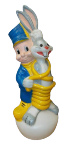 Bugs Bunny & Elmer Fudd Lamp photo