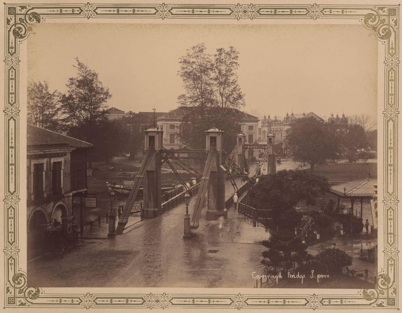 Cavenagh Bridge, 1894