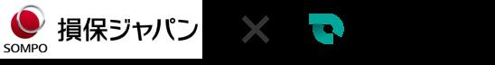 損保ジャパン × SmartDrive ロゴ