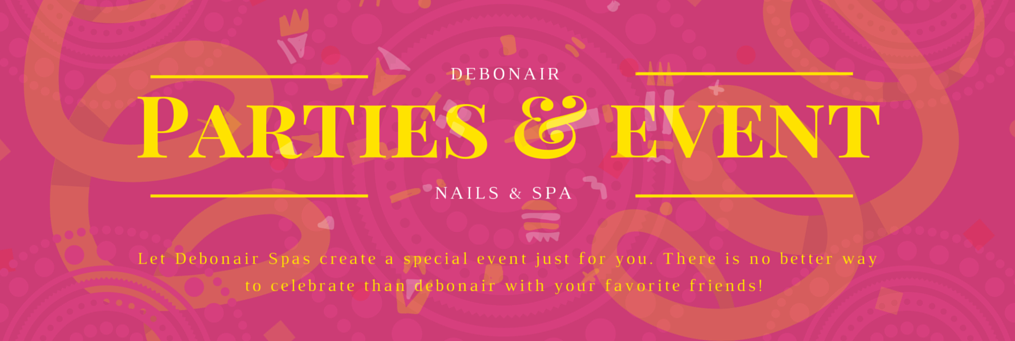 Debonair Nails and Spa events