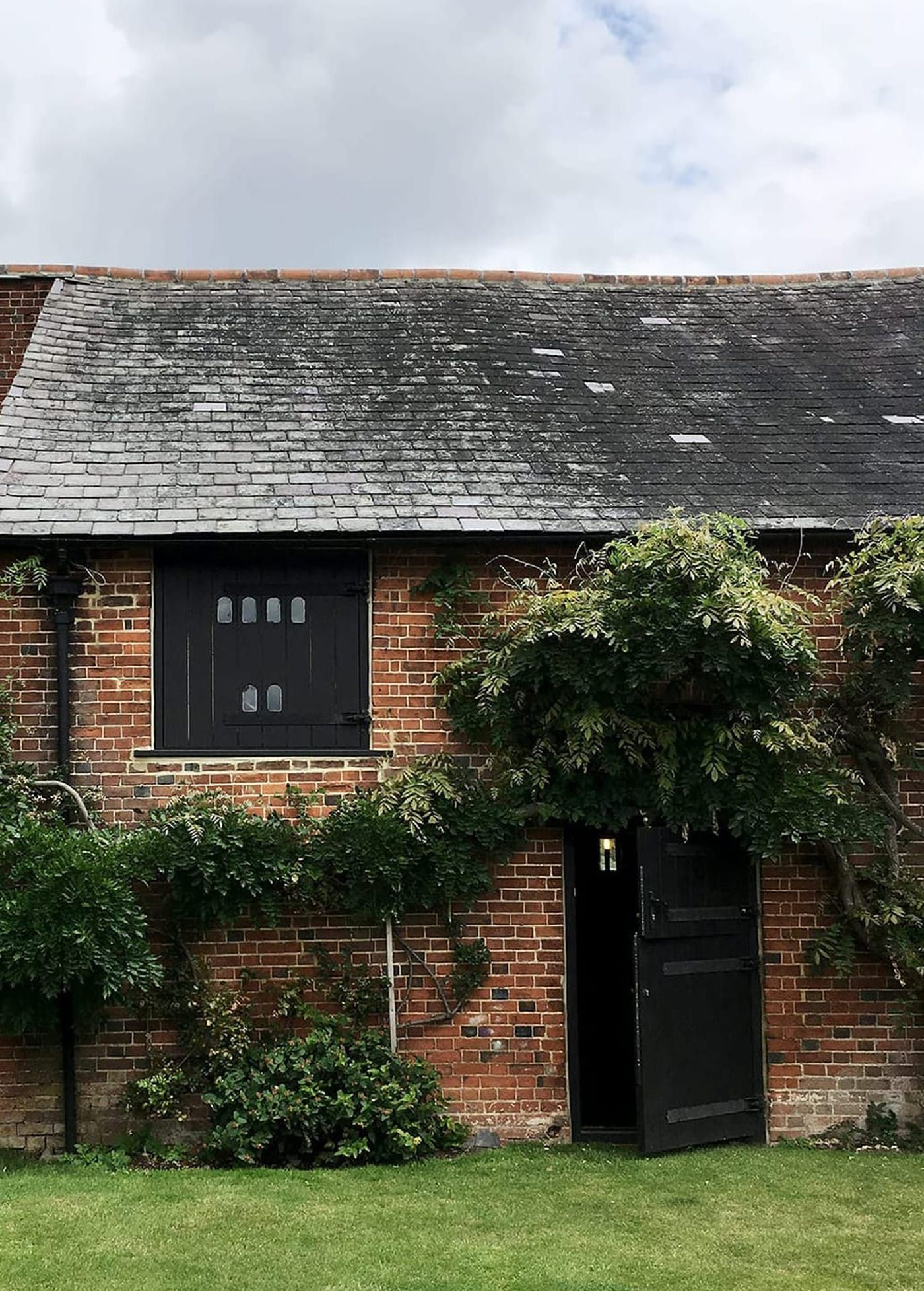 Exterior view of the existing Ashford Barn conversion project designed by From Works.