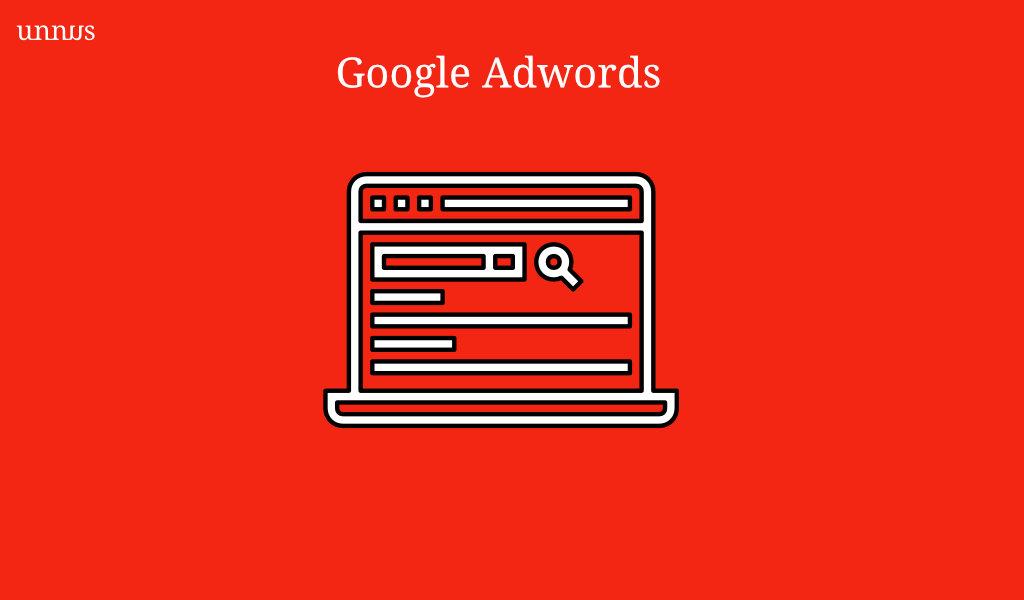 Illustration of Google Adwords
