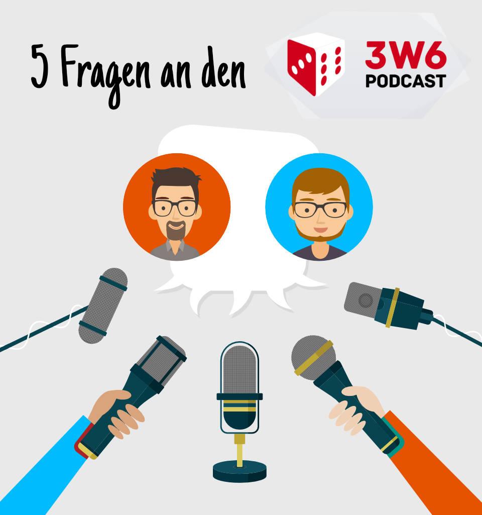 Zwei interviewte Personen umgeben von Mikrofonen