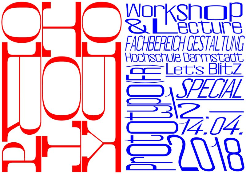 Workshop posters made with Prototypo
