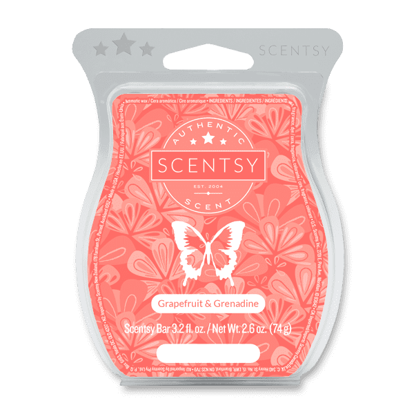 Picture of Grapefruit & Grenadine Scentsy Bar