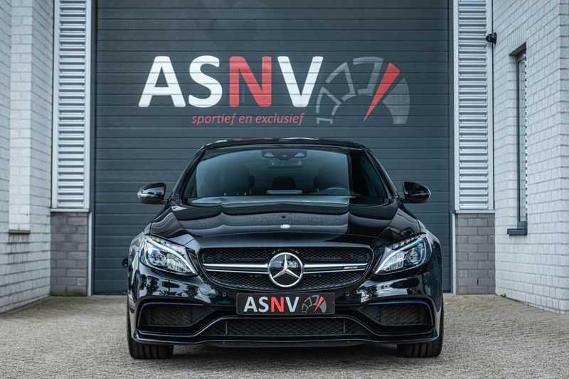 Mercedes-Benz C-Klasse 63 AMG, 476 PK, Pano/Dak, Distronic, Night/Pakket, Burmester, LED, Keyless, 30DKM, Nieuwstaat, BTW!! afbeelding 17