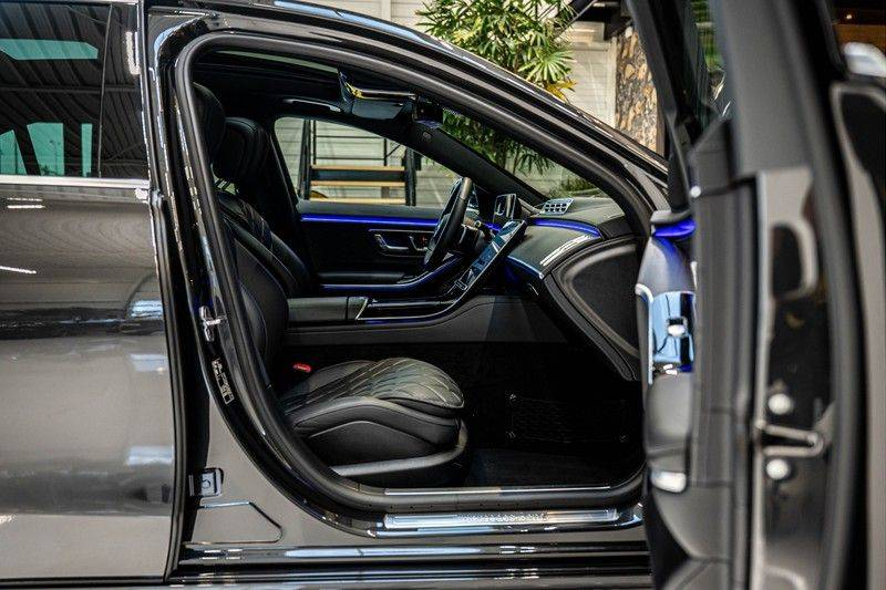 Mercedes-Benz S-Klasse 400d 4Matic Lang AMG | 3D Display | Augmented Head-Up Display | Burmester 3D | Pano | Memory afbeelding 25