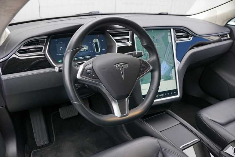 "Tesla Model S 90D Base / 422 PK / Panoramadak / Luchtvering / NL-Auto / 132dkm NAP / 21"" LMV / Leder afbeelding 10"