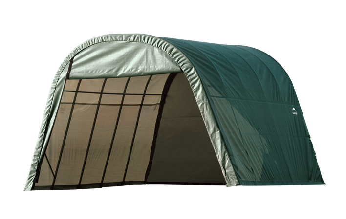 13x20x10 Round Shelter Green Colour
