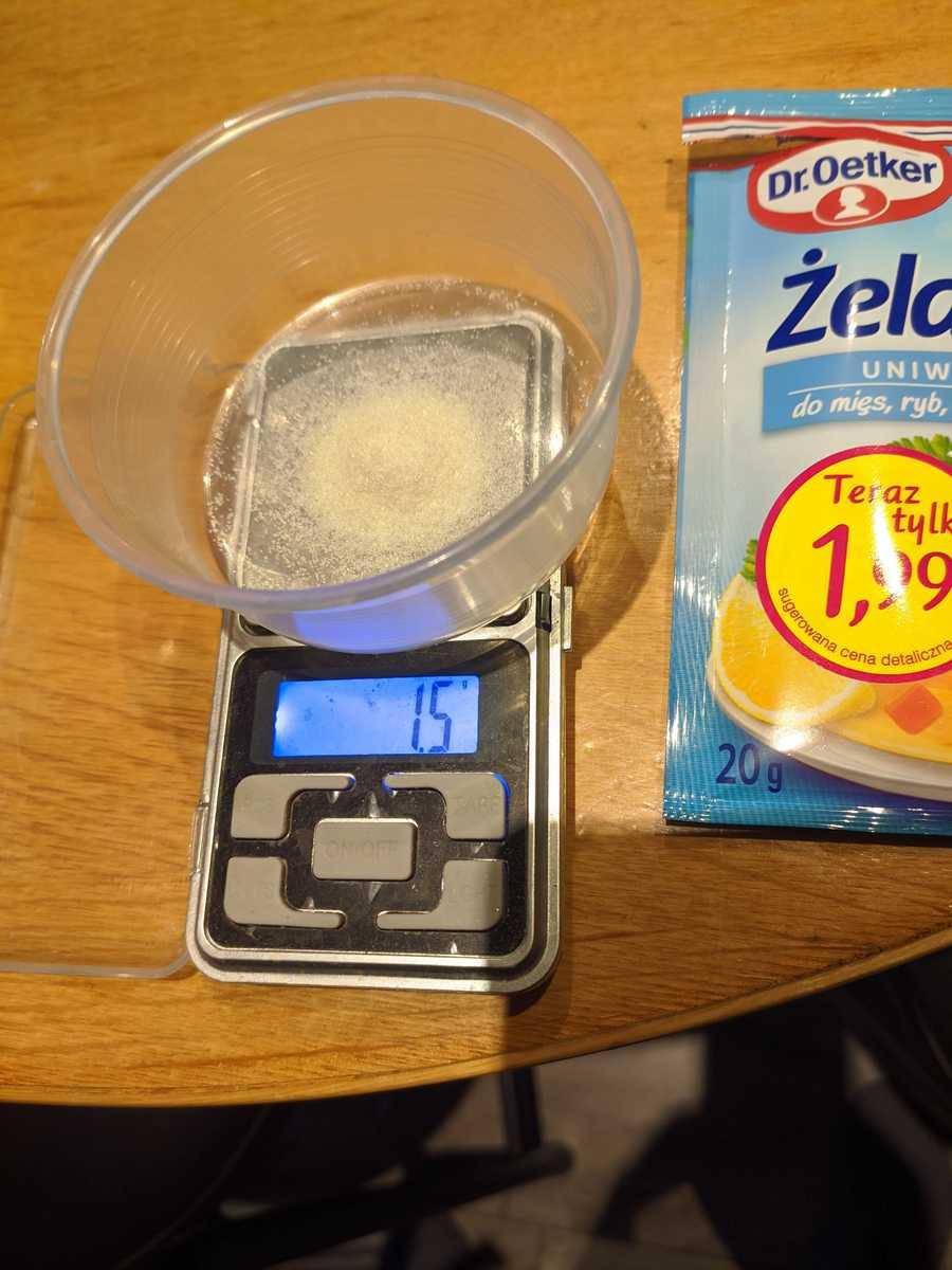 Gelatin on drug scales