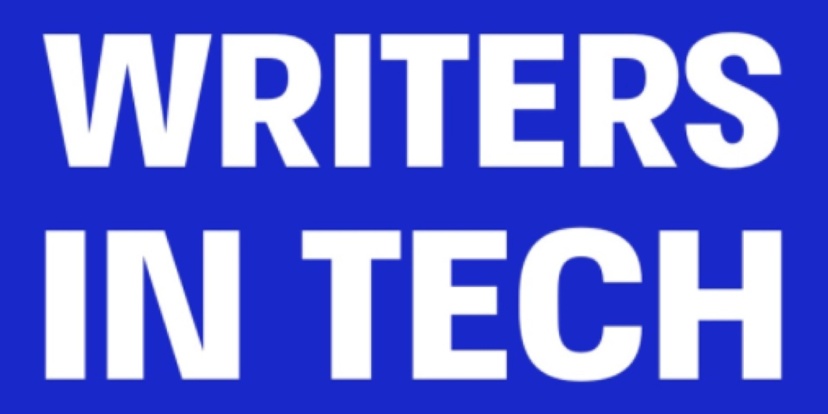 Writers in Tech podcast logo