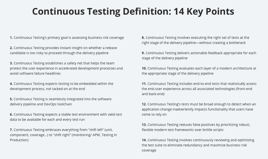 continuous testing definition