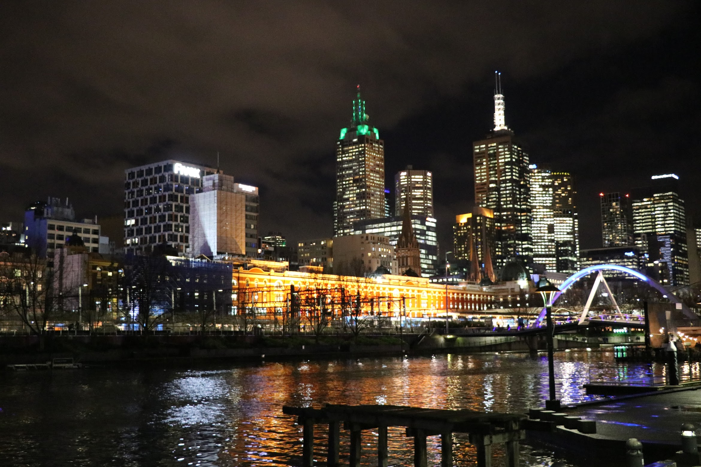 First Sight of Melbourne's Night