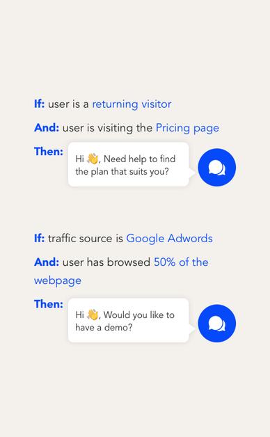 segment your visitors