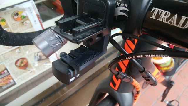 SGX-CA500にDi2ジャンクションを取り付けるマウントを自作した