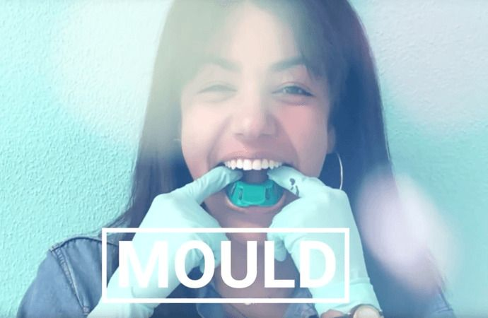 Mould to use on teeth